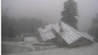 Neve a Cavarzano (da valbisenziometeo.it)