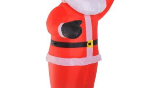 homcom Babbo Natale su amazon.com