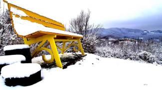 La panchina gigante di Careggine