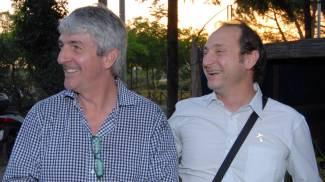Paolo Rossi e don Paolo De Grandi