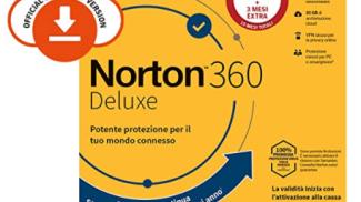 Norton 360 Deluxe 1 su amazon.com