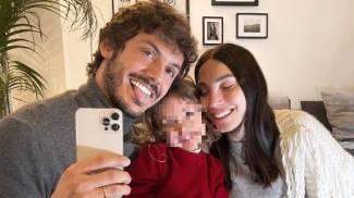 Giovanni Masiero e Francesca Rocco con la piccola Ginevra (Foto Instagram)