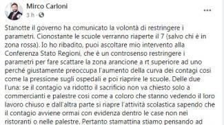 Il post di Mirco Carloni