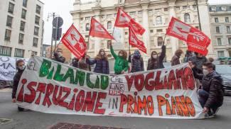 Protesta studenti contro la Dad