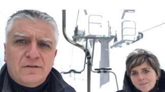 Mallegni e Mazzetti in visita agli impianti abetonesi