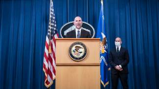 Steven D'Antuono, vice direttore responsabile dell'ufficio dell'Fbi di Washington (Ansa)