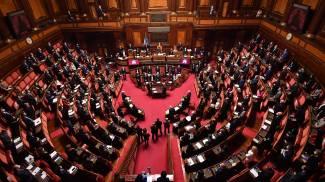 Giuseppe Conte in Senato