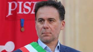 Il sindaco di Pisa Michele Conti