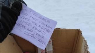 Gratitudine per i soccorritori (foto Soccorso alpino speleologico-Cnsas)
