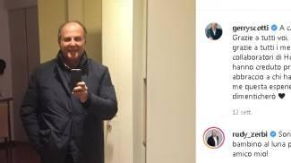 Il ritorno a casa di Gerry Scotti dopo il Covid (Instagram)