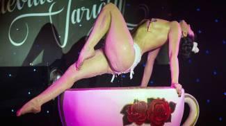 Uno show di burlesque