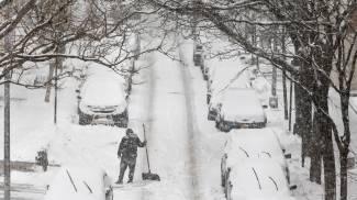 Ondata di gelo negli Stati Uniti (Ansa)