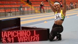 Larissa Iapichino, record del mondo (Colombo/Fidal)
