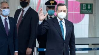 Il premier Mario Draghi (Ansa)