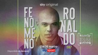 """""""1997, Fenomeno Ronaldo"""", la nuova puntata de 'Le storie di Matteo Marani' su Sky Sport"""