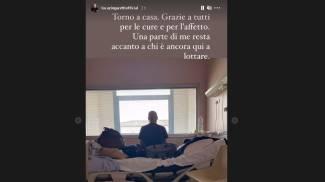 Il post di Luca Zingaretti su Instagram