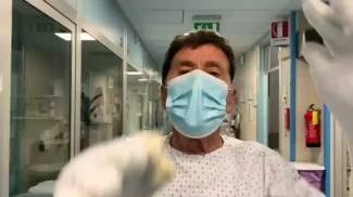 Morandi está no hospital