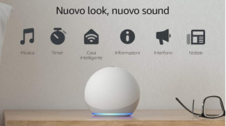 Nuovo Echo Dot di Amazon su amazon.com