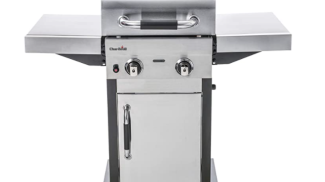 Barbecue in acciaio inox a 2 bruciatori di Char-Broil su amazon.com