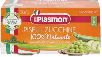 Omogeneizzato piselli e zucchine di Plasmon su amazon.com