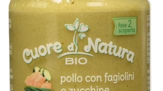 Omogeneizzato pollo con fagiolini e zucchine Bio di Cuore di Natura su amazon.com