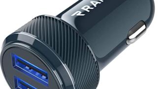 Caricabatterie auto USB di RAMPOW su amazon.com