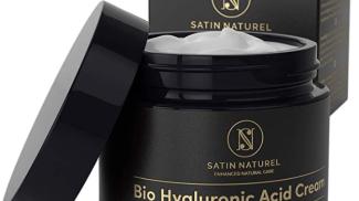 Crema viso bio antirughe all'acido ialuronico di SatinNaturel su amazon.com