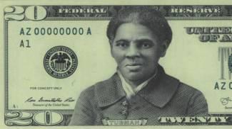 Una possibile elaborazione della banconota da 20 dollari con l'effigie della Tubman