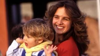 Valentino Rossi con la mamma Stefania Palma alle prime gare di papà Graziano