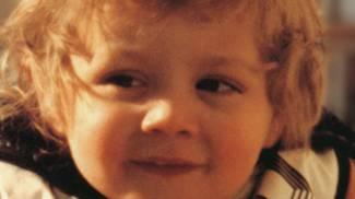 Baby Valentino Rossi con la tuta da moto