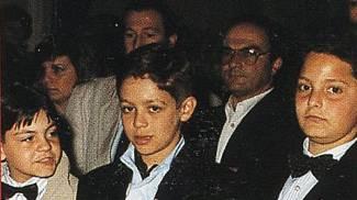 Valentino Rossi, con gli amici di sempre