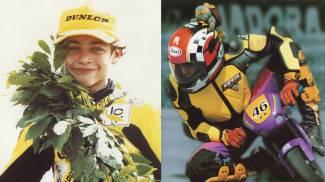 Valentino Rossi, le prime gare e le prime vittorie (a 11 anni)