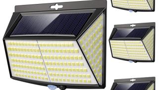 Luce Solare LED Esterno su amazon.com