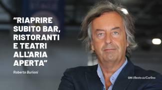 """Roberto Burioni: """"Riaprire subito bar, ristoranti e teatri all'aria aperta"""""""