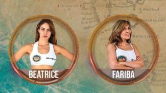 Beatrice Marchetti e Fariba Tehrani al teelvoto