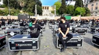 Bauli in piazza: Francesco Rainero ed Elisa Vitiello