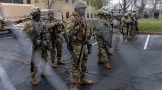 La Guardia nazionale in campo