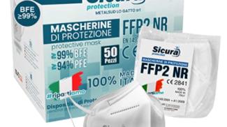 50 Mascherine FFP2 su amazon.com