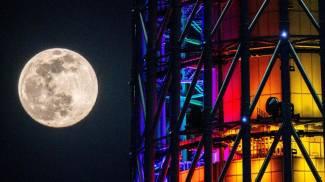 Superluna a Tokyo (Ansa)