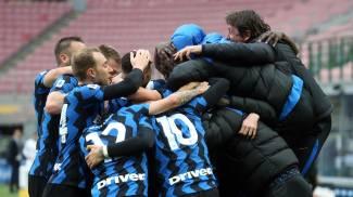 L'Inter campione d'Italia 2021 (Ansa)