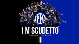 L'Inter celebra lo scudetto sul sito internet