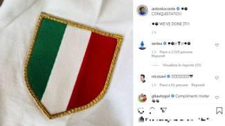 Il post di Antonio Conte su Instagram