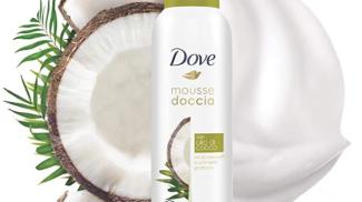 DOVE Mousse Doccia su amazon.com