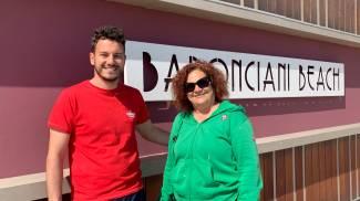 Antonella Baronciani e Andrea Righetti di Bagni Baronciani