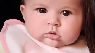 La piccola Sharon Barni