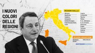 Covid, i nuovi colori delle regioni dal 10 maggio