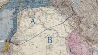 Mappa Sykes-Picot