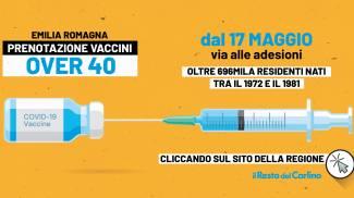 Le vaccinazioni over 40 riguardano circa settecentomila persone in regione