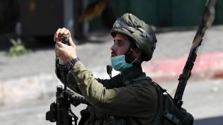 Un soldato dell'esercito israeliano