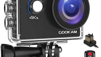 GOOKAM 4K Action Cam su amazon.com